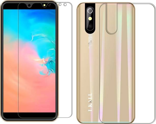 FashionCraft Front and Back Screen Guard for I Kall K200