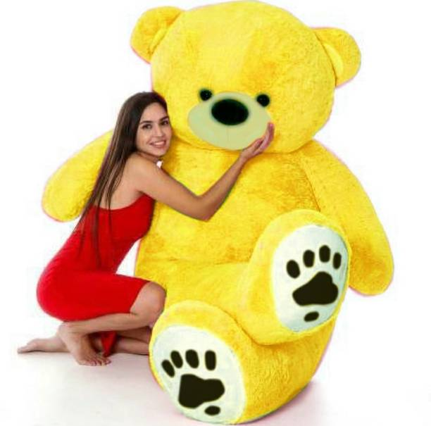 ABPY Yellow Smart teddy bear 3 feet for 90cm gift st e (Spaciel some one )  - 90 cm