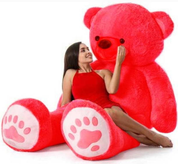 ABPY Red Smart teddy bear 3 feet for 90cm gift st e (Spaciel some one )  - 90 cm