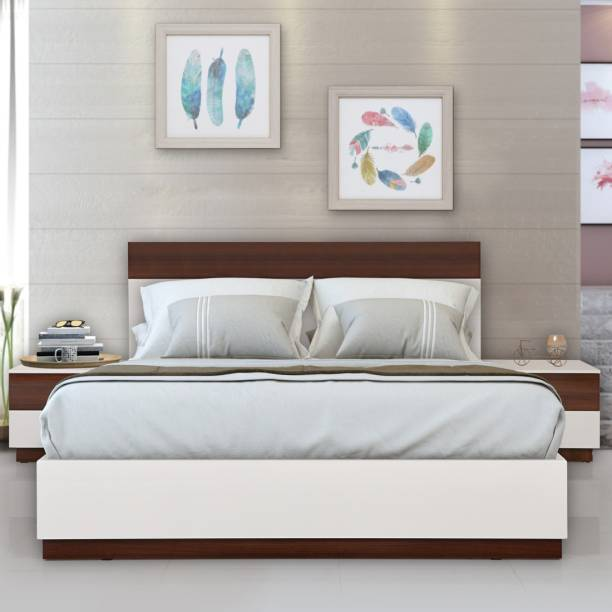 EVOK Element Engineered Wood King Hydraulic Bed