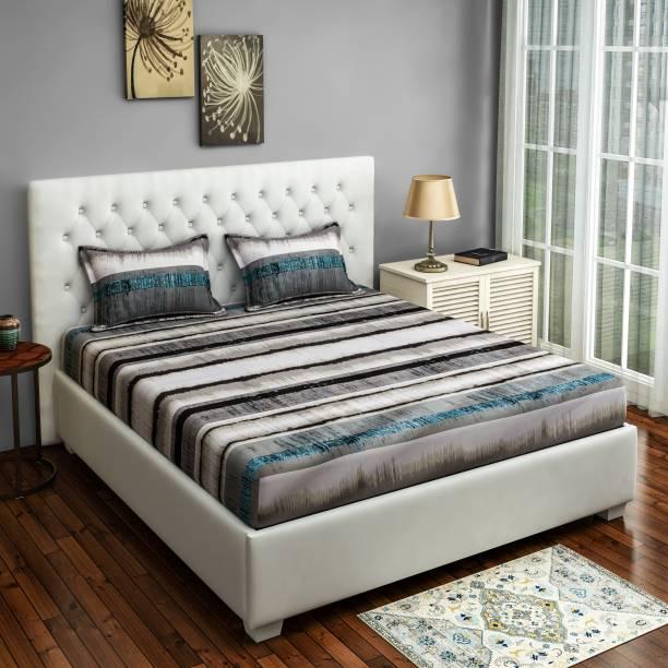 SWAYAM 160 TC Cotton Crib Printed Bedsheet