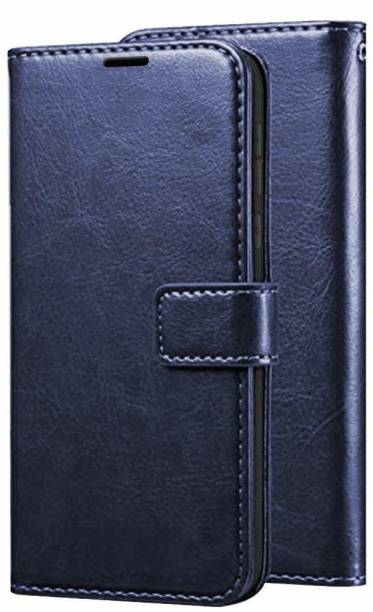 UNQMobi Back Cover for Vivo V11 Pro PU Leather Vintage Flip Cover with Card Holder and Magnetic Stand