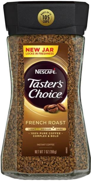 Nescafe Taster's Choice French Roast Medium Dark Complex & Bold Instant Coffee Instant Coffee