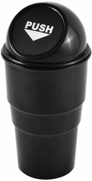 Vittamix Mini Car Trash Bin Can Holder Dustbin Combo Pack of 1 Plastic Dustbin