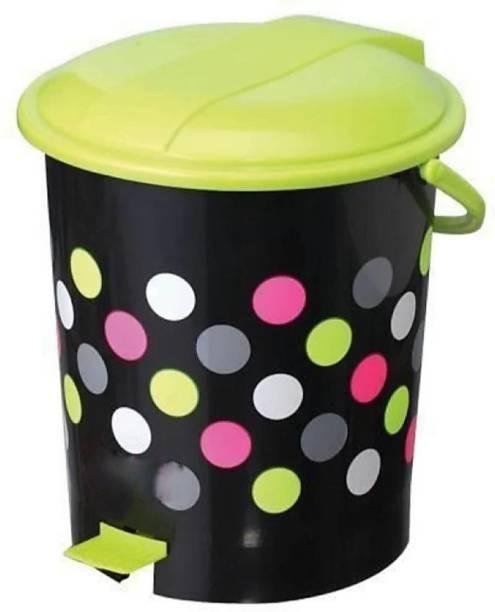 HUMBLE KART Plastic Dustbin Bin with Handle - 12-L Plastic Dustbin