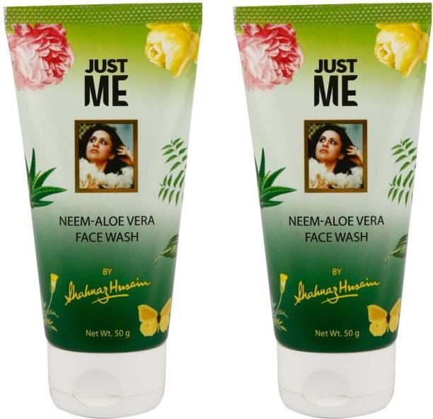 Shahnaz Husain Just Me Neem-Aloe Vera Face Wash