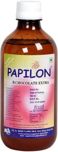PAPILON Concentrated Chocoltae Flavour 500ml Chocolate Liquid Food Essence