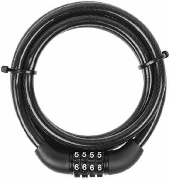 Riya Touch Copper Cable Lock For Helmet