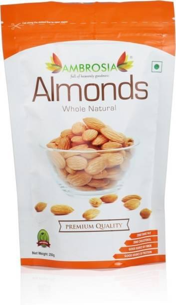 AMBROSIA PREMIUM CALIFORNIA WHOLE ALMOND KERNELS Almonds