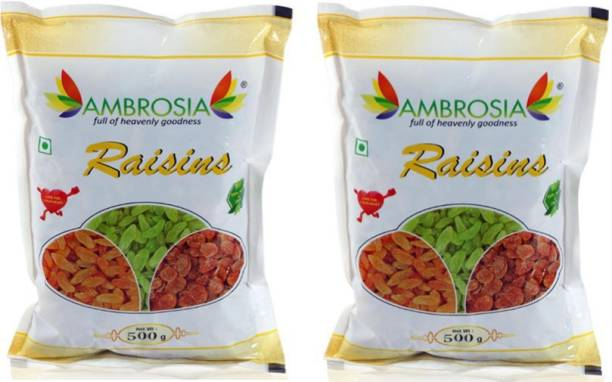 AMBROSIA Golden Raisins 1 Kg Raisins