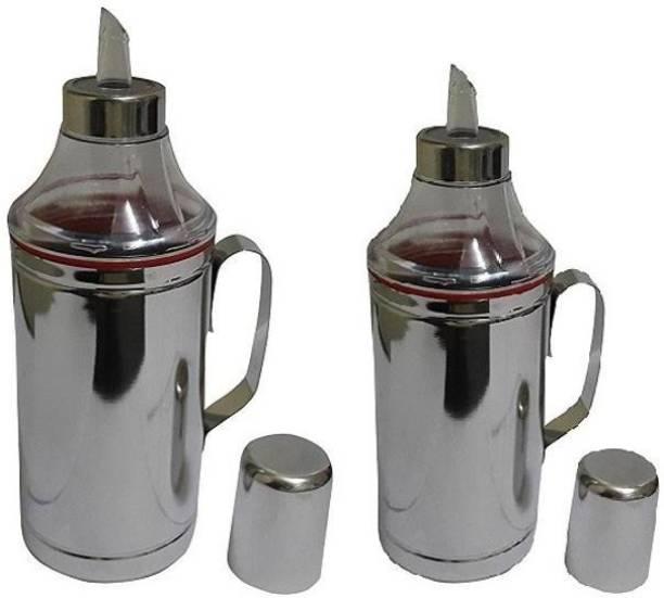 Dynore 1000 ml, 750 ml Oil dropper Cooking Oil Dispenser Set
