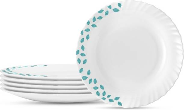 Larah by Borosil HTTCECOM11FP1BLSFL Dinner Plate