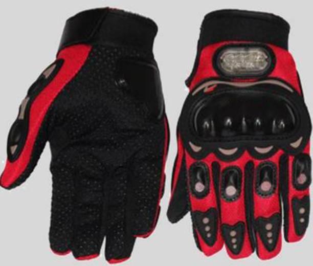 Flipkart SmartBuy GlovesFull_Red_M Riding Gloves