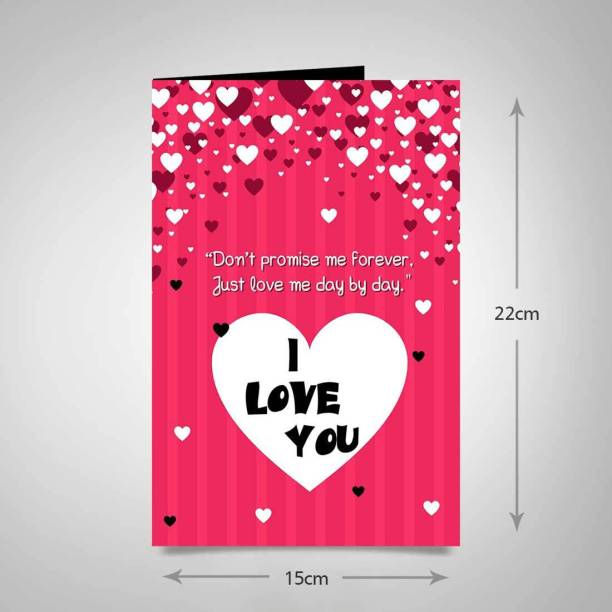 alwaysgift True Promise Day Greeting Card Greeting Card