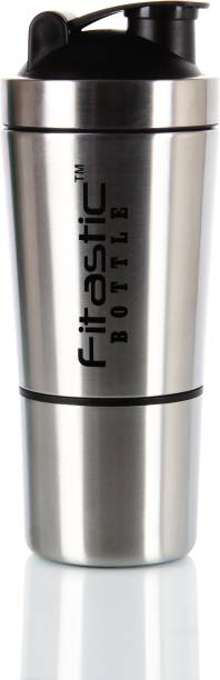 Fitastic Stainless Steel Shaker Bottle with Compartment 750 ml 750 ml Shaker