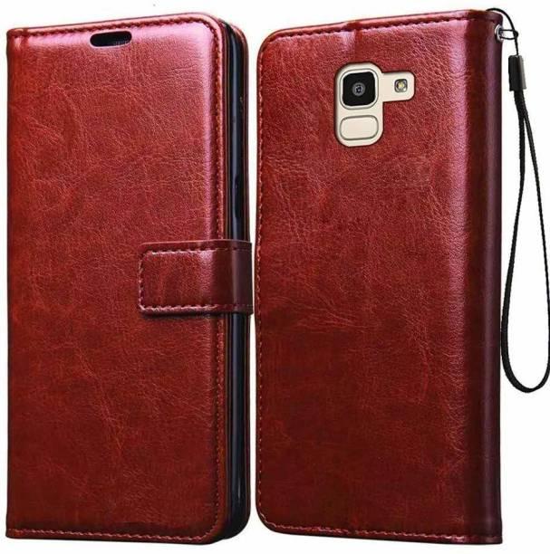 Tingtong Flip Cover for Samsung Galaxy J6