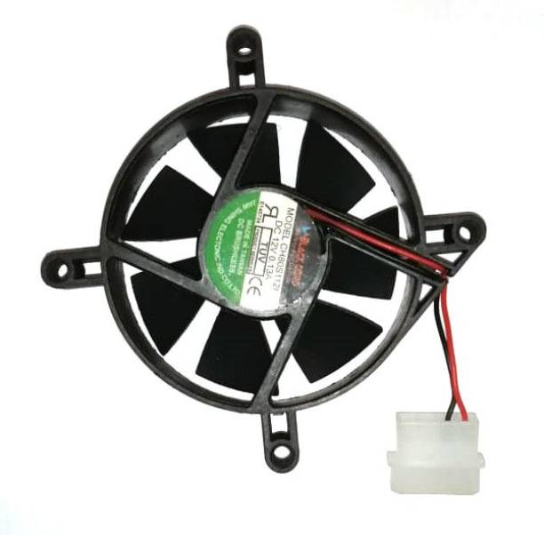 RIVER FOX 12 volt DC Fan for CPU Cabinet Cooler