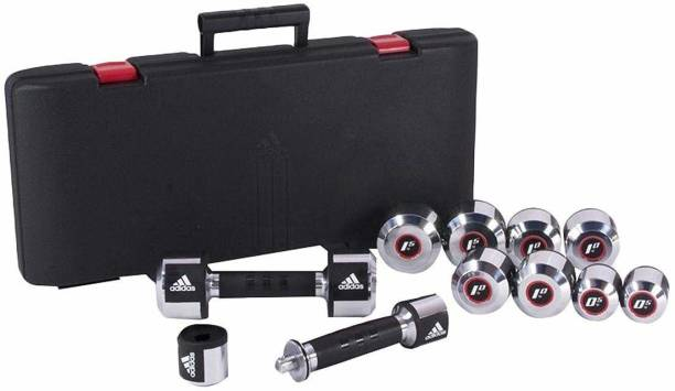 ADIDAS Deluxe Dumbbell Set Adjustable Dumbbell