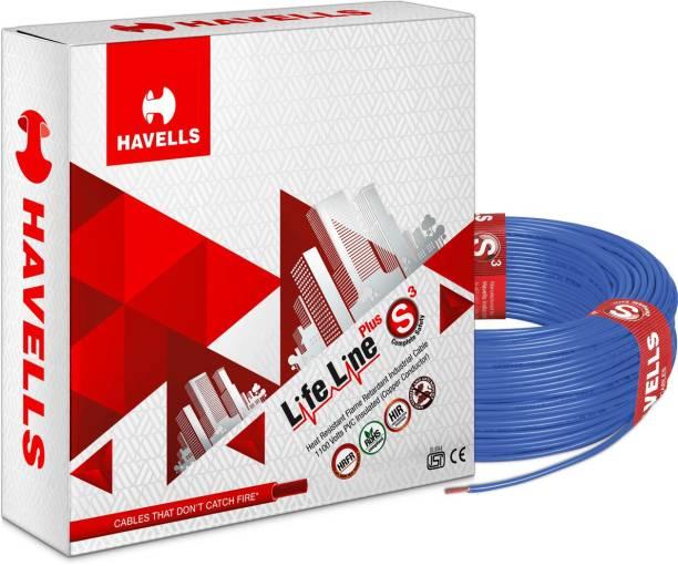 HAVELLS HRFR PVC 0.75 sq/mm Blue 90 m Wire