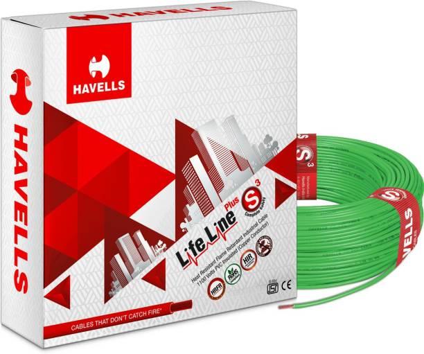 HAVELLS HRFR PVC 0.75 sq/mm Green 90 m Wire