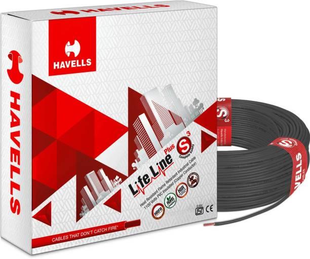 HAVELLS HRFR PVC 2.5 sq/mm Black 90 m Wire