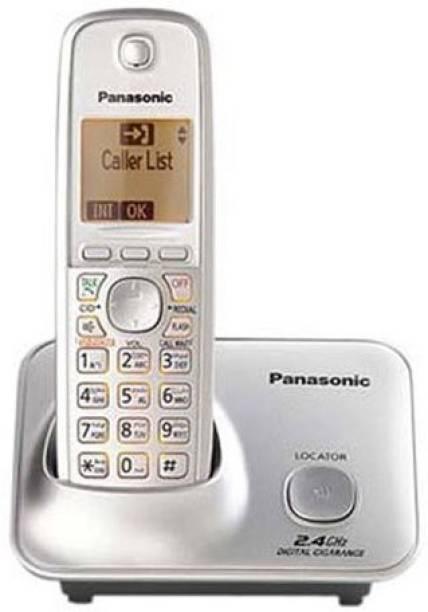 Panasonic Single Line 2.4 KX-TG3711SX Digital Cordless Phone (silver) Cordless Landline Phone