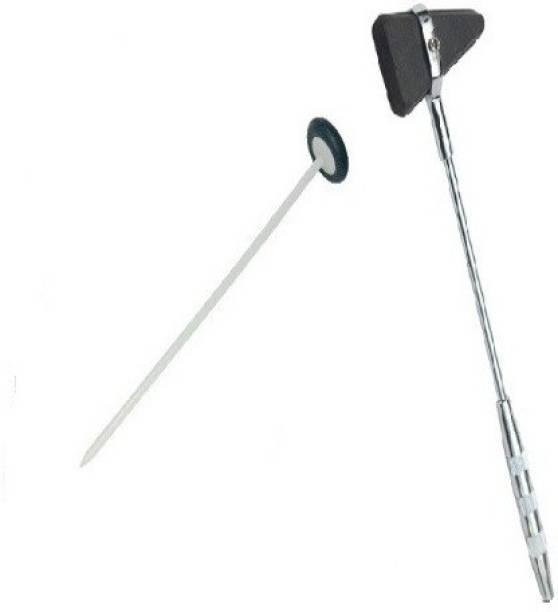 Agarwals ™ Flexible Reflex Hammer Queen Square Pattern And Triangular Reflex Hammer Taylor Pattern Orthopedic Medical Hammer