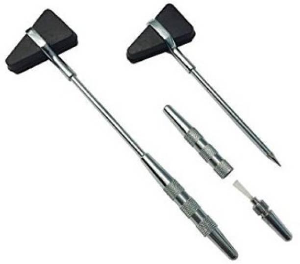 Agarwals ™ Triangular Reflex Hammer Taylor Pattern Orthopedic(Pack Of 2) Medical Hammer