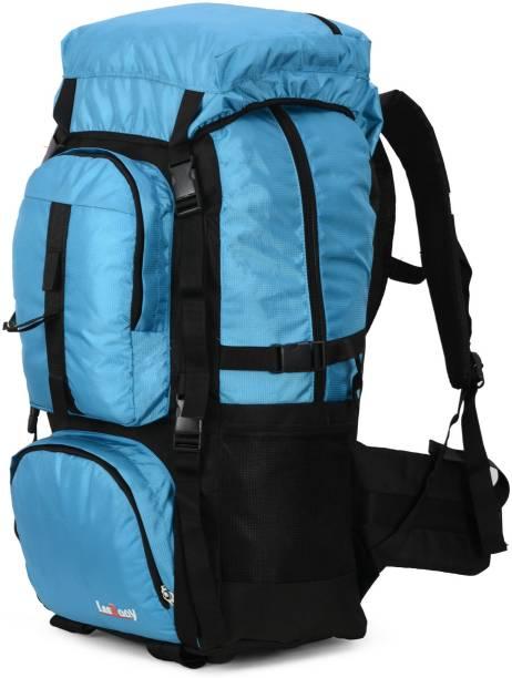 LeeRooy MN-Canvas 30 Ltr Black School Bag Backpack For Unisex Waterproof Haversack