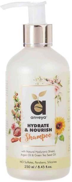 Anveya Hydrate & Nourish Shampoo,for Dry, Damaged, Frizzy Hair & Hair Fall