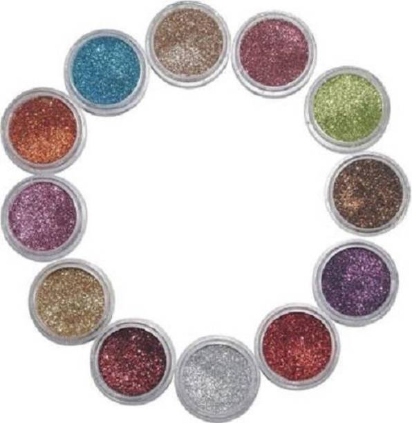 whinsy 12 Color Shimmer Eye shadow Powder Pack