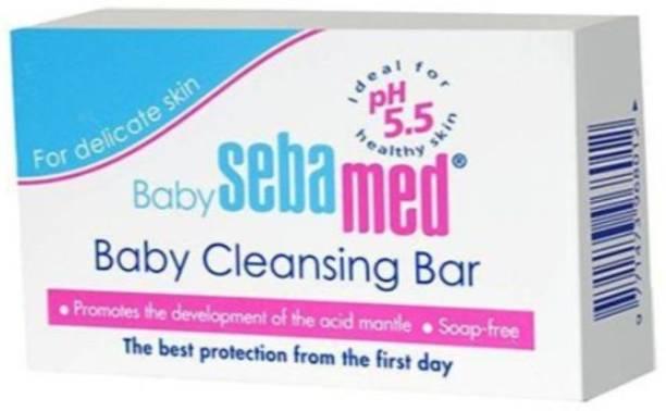 Sebamed kids Cleansing bar for delicate skin - Pack of 4(400g)