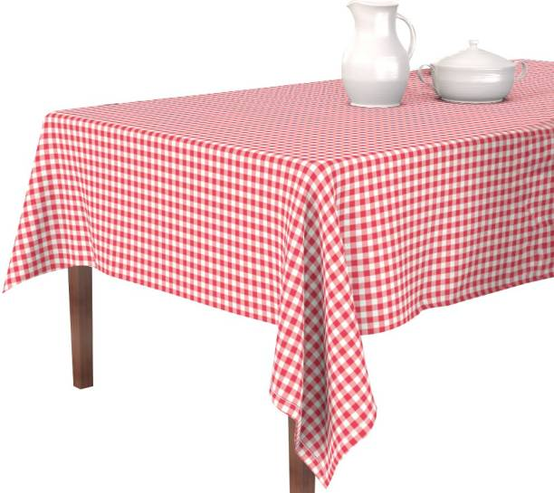 Oasis Checkered 8 Seater Table Cover