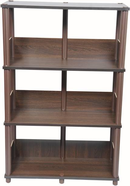 Craft Creations Engineered Wood Open Book Shelf