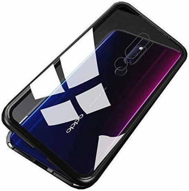 UNQMobi Back Cover for Oppo F11 Pro Front + Back Magnetic Case Cover