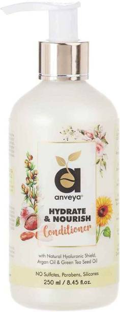 Anveya Hydrate & Nourish Conditioner, for Dry, Damaged, Frizzy Hair & Hair Fall