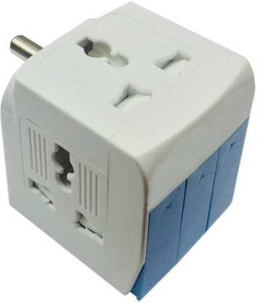 SEASPIRIT 3 way switched adaptor Three Pin Plug