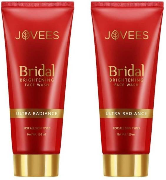 JOVEES Ultra Radiance Bridal ,120 Ml Each Face Wash