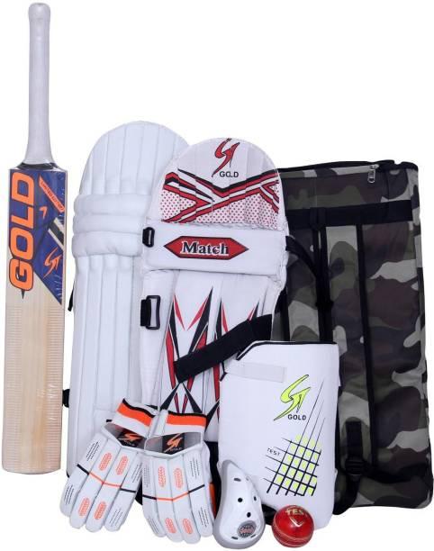 Cricket Kit SCOREMASTER Full Size 9 Gears Equipment Batting Set For 13+/& Above