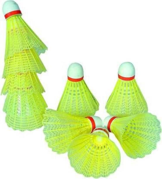 Aakar Enterprises Badminton Plastic ShuttleCock Plastic Shuttle  - Green