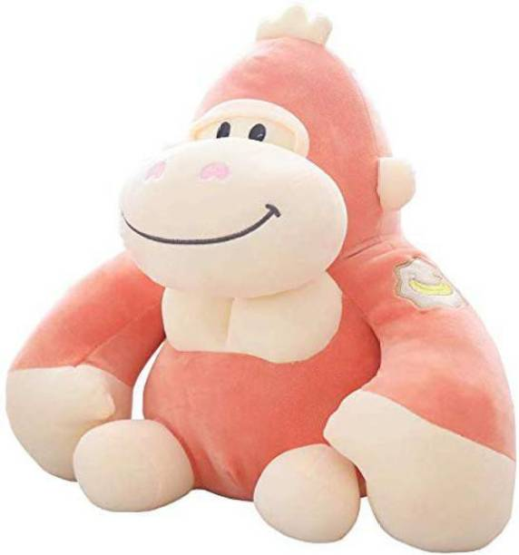 A Little Swag Little Swag Soft Plush Stuffed Gorilla Animal Figure Toy for Kids, 15 inches.  - 35 cm
