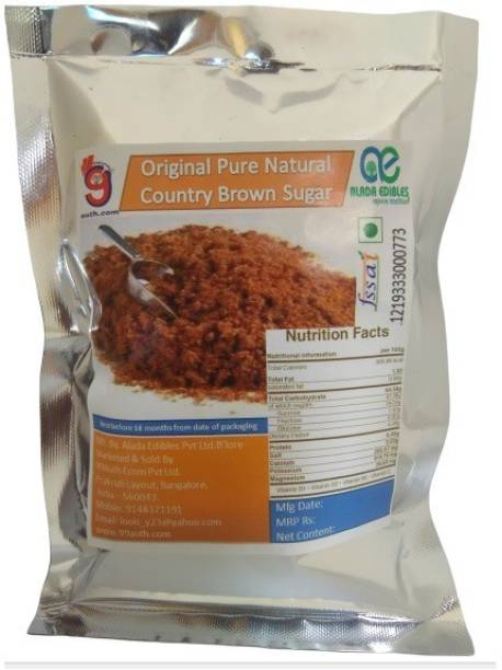 99Auth 150 gm Pure NATURAL Country Brown Sugar - Contains NO Adulteration Sugar