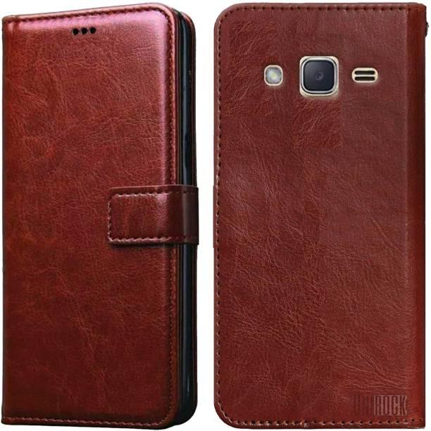 Unirock Flip Cover for Samsung Galaxy J2