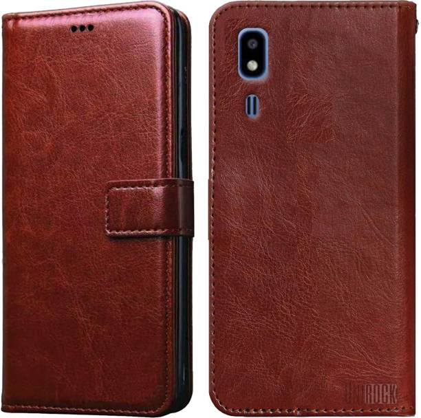 Unirock Flip Cover for Samsung Galaxy A2 Core
