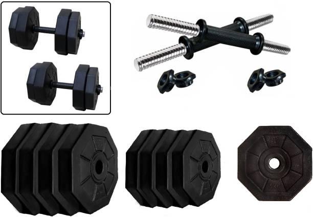 Star X Hexa PVC 20kg Adjustable Dumbbells Fixed Weight Dumbbell