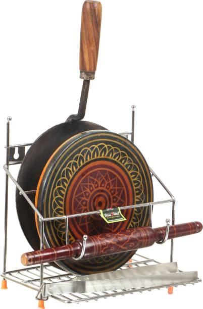 SLIMSHINE Chakla/Belan Kitchen Rack