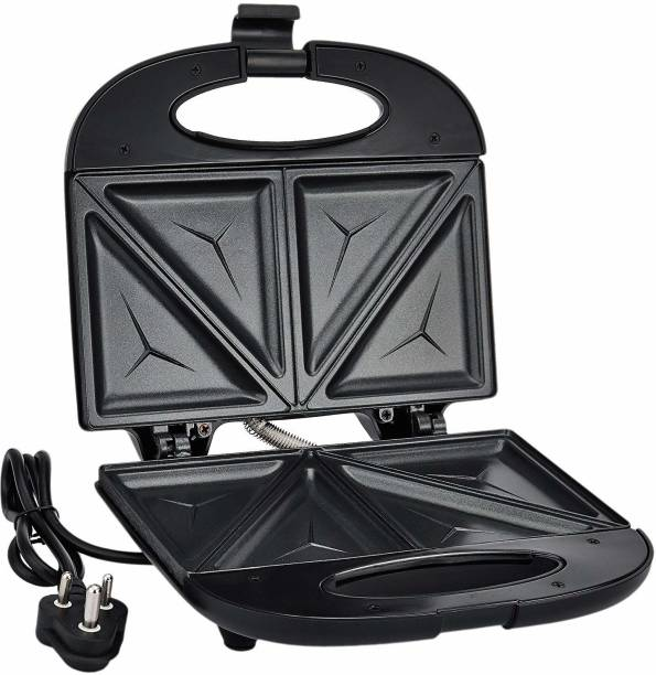 Prestige 800 Watt Sandwich , Black fixed plate Toast