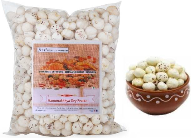Hanumakkhya Dry Fruits Phool Makhana, Fox Nut Organic
