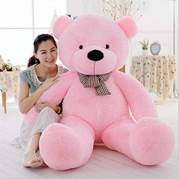 TRUELOVER 3 feet pink teddy bear most beautiful teddy and cute and soft love teddy - 89.55 cm (Pink)  - 89 cm