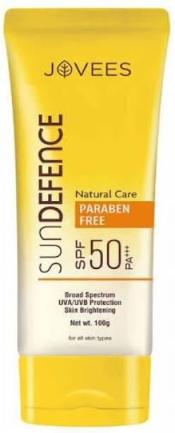 JOVEES SUN DEFENCE CREAM SPF50 , 100GM - SPF 50 PA+++